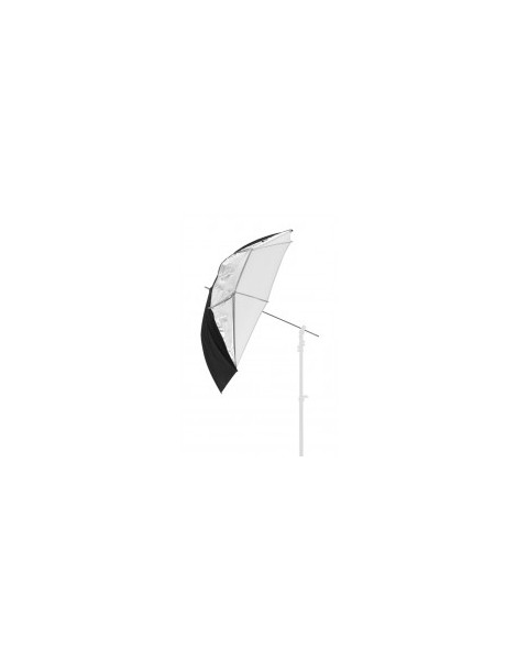 Umbrella All In One 99cm Silver/White