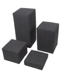 Block Set: Four White Covers