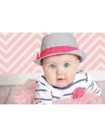 Ella Bella Pink Chevron