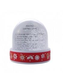 Premium Snowdome Red