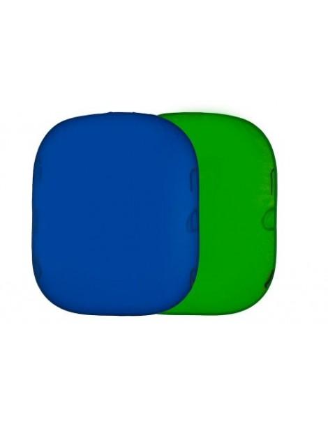 Lastolite Collapsible Reversable 1.5x1.8 Chromakey Blue/Green