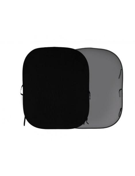 Lastolite 1.8x2.15 Black/Mid Grey