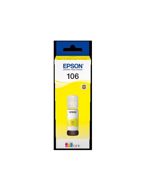 Epson 106 EcoTank Pigment Yellow Ink Bottle