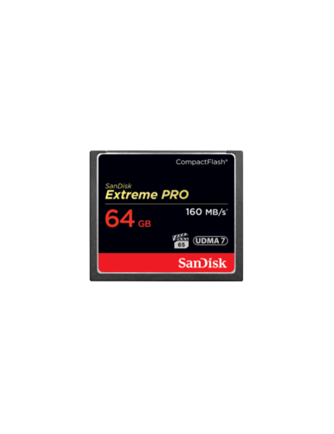 SanDisk Extreme Pro CompactFlash Memory Card 64GB