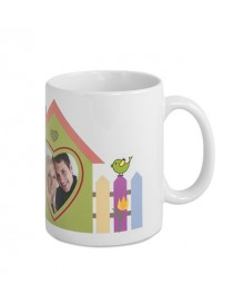 Ceramic Mug Brilliant White Premium 11oz