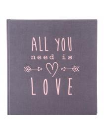 "Goldbuch ""All You Need Is Love"" Grey Album"